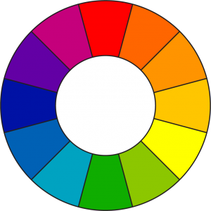 A 12 segment color wheel
